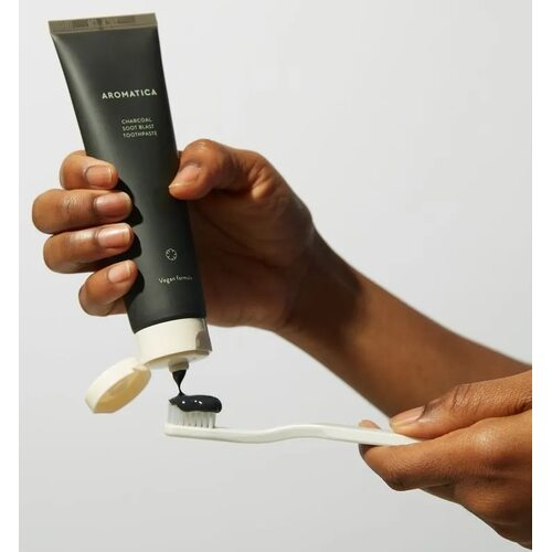 Aromatica Charcoal Soot Blast Toothpaste