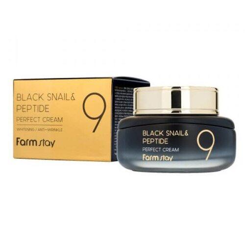 FarmStay Black Snail & Peptide 9 Perfect Cream