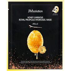 JM Solution Honey Luminous Royal Propolis Hydrogel Mask Black