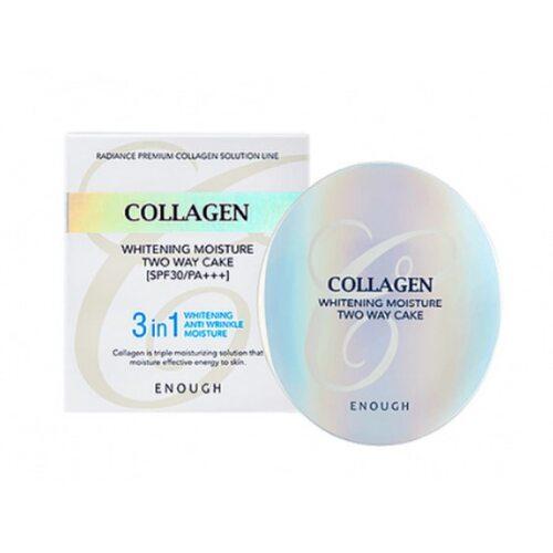 Enough Collagen Whitening Moisture Two way Cake SPF28 PA++