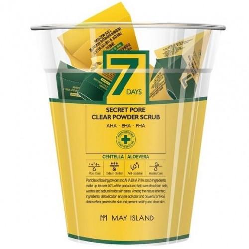 May Island 7days Secret Pore Clear Powder Scrub