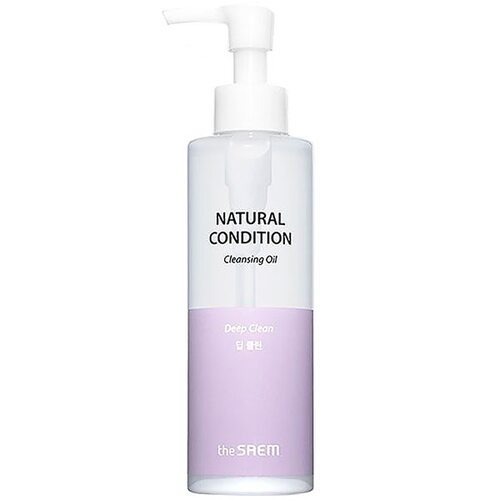 The Saem Natural Condition Cleansing Oil #deep clean