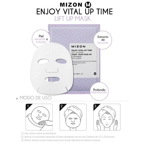 Mizon Enjoy Vital-Up Time Lift Up Mask Tight Your Face Up