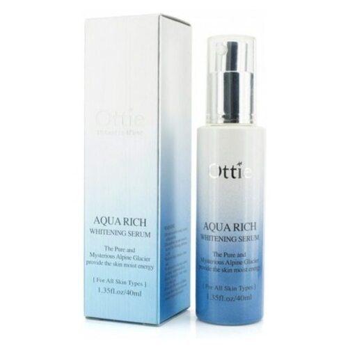 Ottie Aqua Rich Whitening Serum