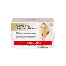Purederm Age Defying cleansing tissues