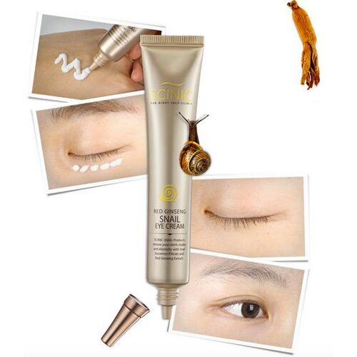Scinic Red Ginseng Snail Eye Cream