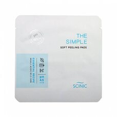 Scinic The Simple Soft Peeling Pads