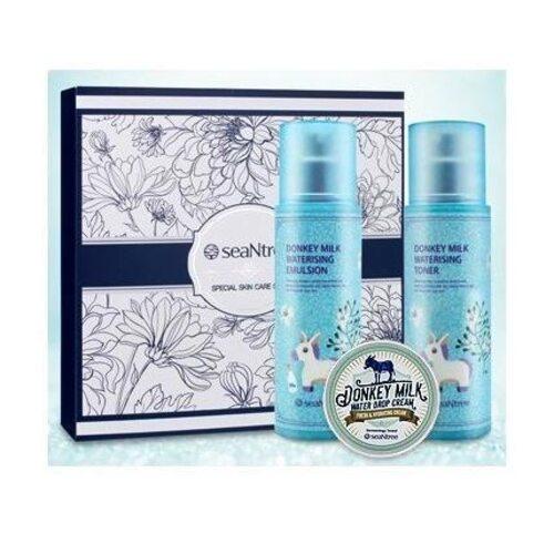 SeaNtree Donkey Milk Waterising Special Skin Care Set
