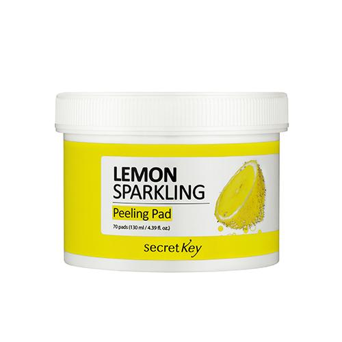 Secret Key Lemon Sparkling Peeling Pad