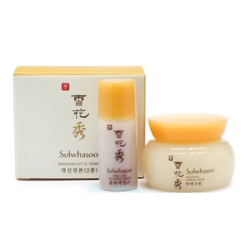 SULWHASOO Renewing Kit (2 items): cream 4ml + serum 4ml
