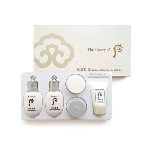 The History of Whoo Radiant white special gift set
