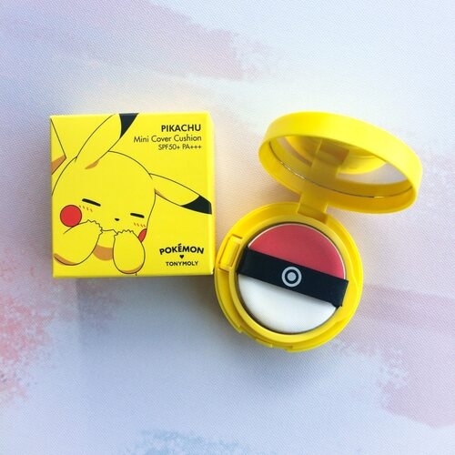 Tony Moly Pikachu Mini Cover Cushion (pokemon edition) #2