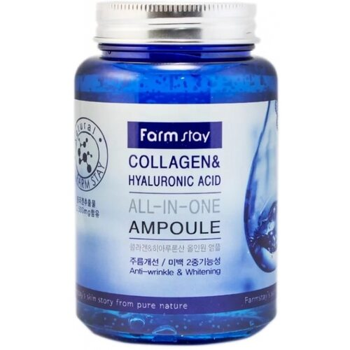 Farmstay Collagen And Hyaluronic Acid All In One Ampoule