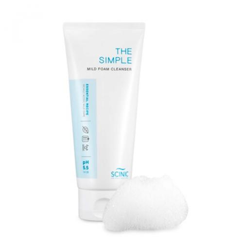 Scinic The Simple Mild Foam Cleanser
