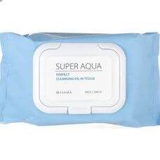 Missha Super Aqua Ultra Hyalron Cleansing Water Wipes