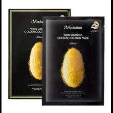 JM Solution Water Luminous Golden Cocoon Mask Black