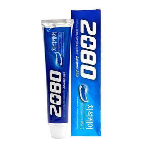 Aekyung 2080 Advance Blue Toothpaste Scrub Essence 120g