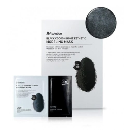 JM Solution Black Cocoon Home Esthetic Modeling Mask