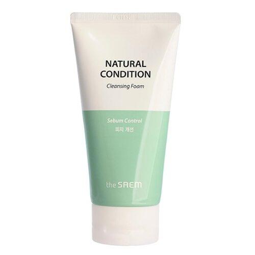 The Saem Natural Condition Sebum Control Cleansing Foam