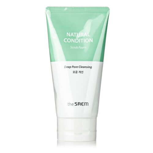 The Saem Natural Condition Deep Pore Cleansing Scrub Foam
