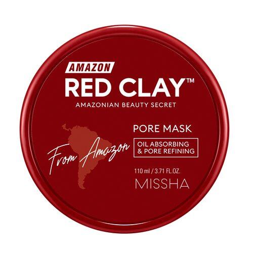 Missha Amazon Red Clay™ Pore Mask