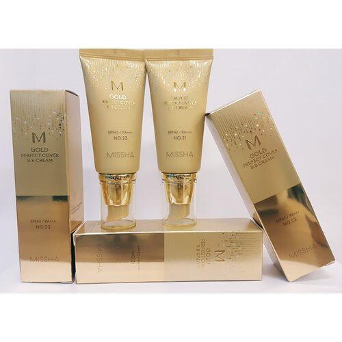 Missha M Gold Perfect Cover B.B Cream