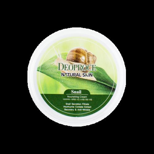 DEOPROCE Natural Skin Snail Nourishing Crea
