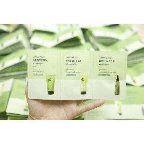 Innisfree Green Tea Cleansing Kit