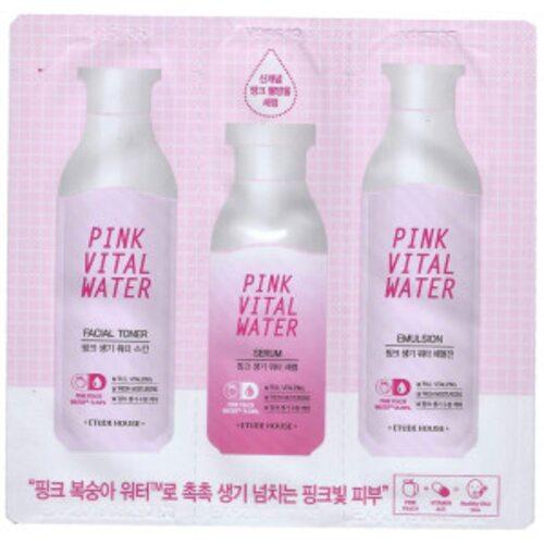 Etude House Pink Vital Water 3 set