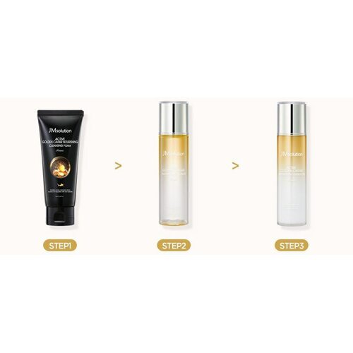 JM solution Active Golden Caviar Nourishing Skin Care Set-Prime