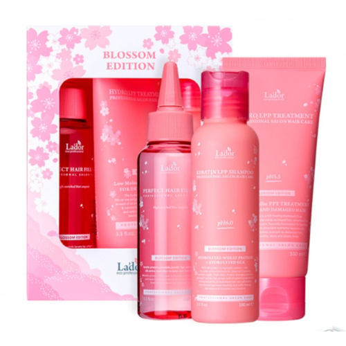 Lador Blossom Edition (Treatment+Shampoo+Hair Ampoule)