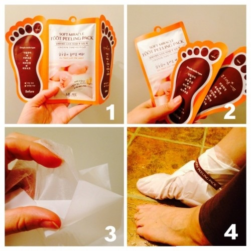 Mj Care Soft Miracle Foot Peeling Pack