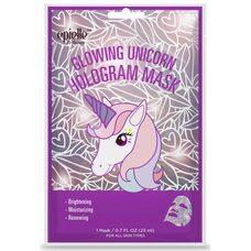 Epielle Glowing Unicorn Hologram Mask