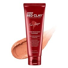 Missha Amazon Red Clay™ Pore Pack Foam Cleanser